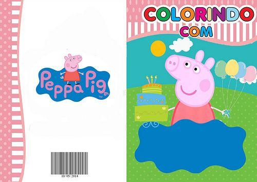Pig Com Imagens Livro De Colorir Peppa Pig Borboletas Para Imprimir