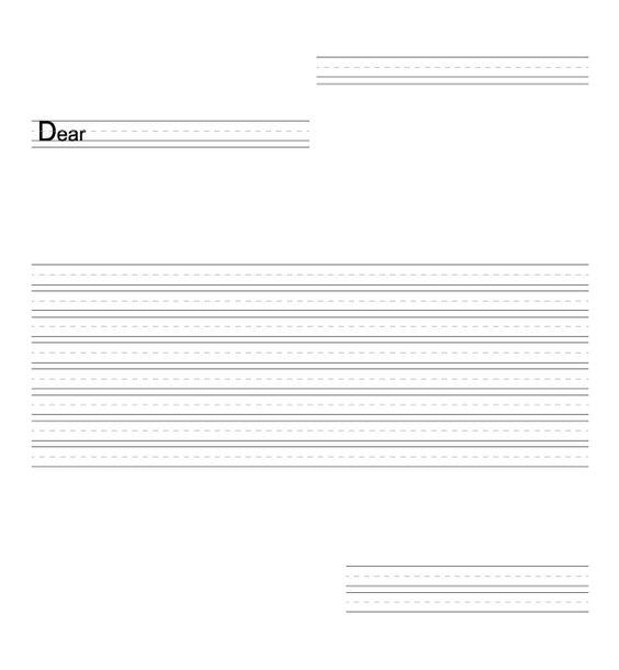 Letter-writing organizer