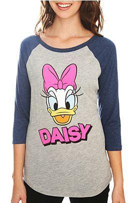 daisy duck Baseball t-shirt