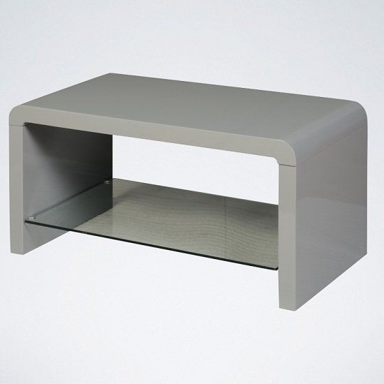 Norset Modern Coffee Table Rectangular In Grey Gloss Modern Coffee Tables White Furniture Coffee Table With Storage