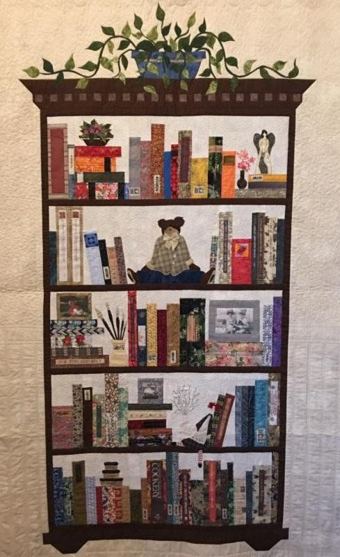 Bookcase Quilt Class