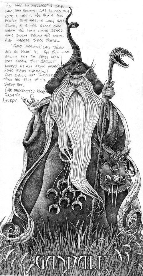 Carrell: Gandalf