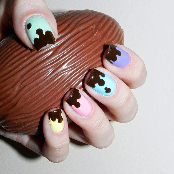 Nail Art's para a pascoa - 10 Fotos para se inspirar