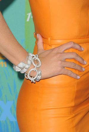Lorraine Schwartz Joined Circle + Mini Studs Diamond Bracelet