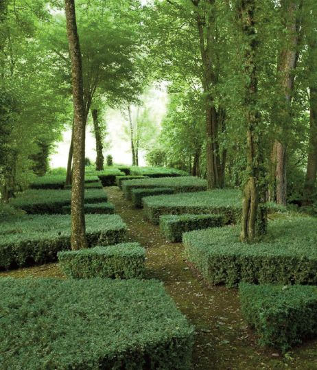 louis bench -amazing french landscaper