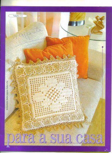 Crochet: almohada