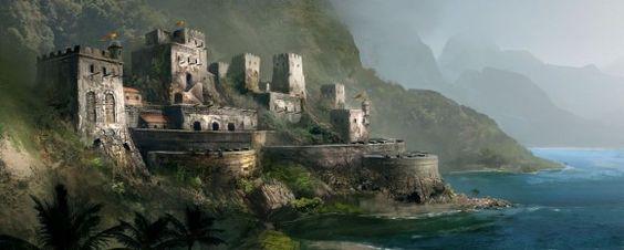Arte conceitual de Assassins Creed IV: Black Flag #Games #Illustration