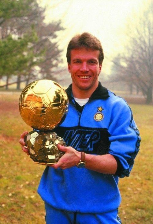 Lothar Matthaus Ballon D Or Legends Football World Football Best Football Players