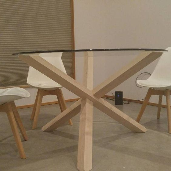 1x2 1 Dining Table Legs Table Base Puzzle Kitchen Table Legs