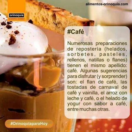 #OrinoquiaparaHoy El #Café en la reposteria