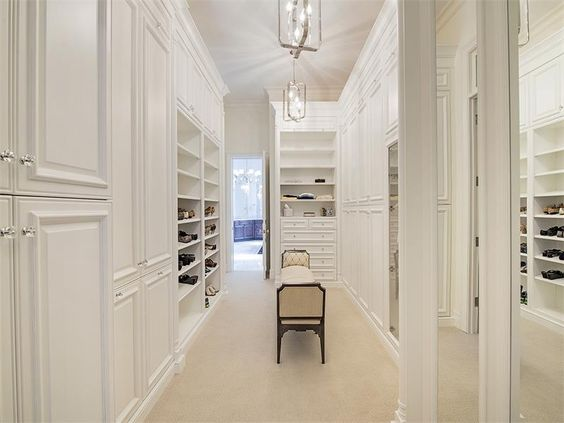 Traditional Closet with Carpet, Bey-berk pharmacy silver-plated 5 x 7 in. photo frame - tarnish proof, Columns, Chandelier