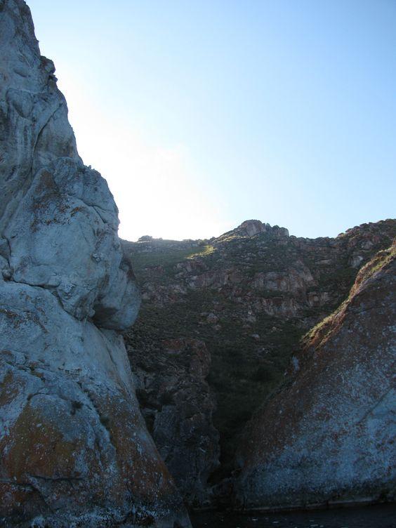 way from Olhon to Zmeinaya bay