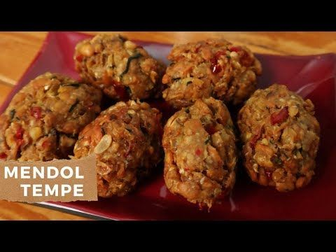 Cara Membuat Mendol Tempe Enak Khas Malang Youtube Resep Makanan Makanan Tempe