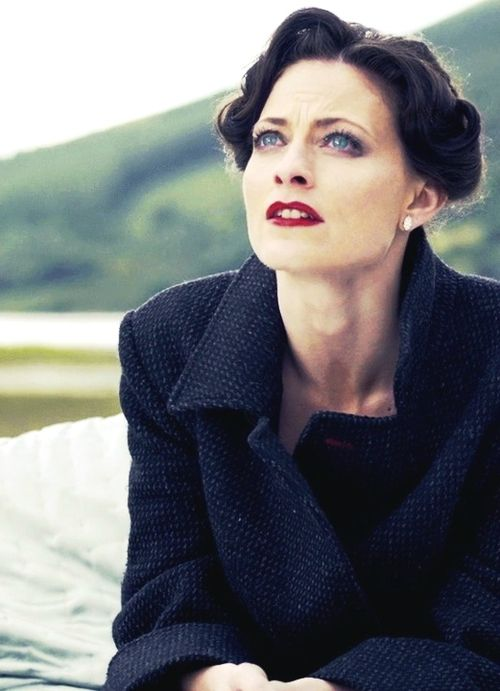 I have her dark hair, blue eyes, & red lipstick already... Hey! Sherlock has these features too (minus the lipstick... Unless it's from Irene ) Brown hair, blue eyes: the features of the intellectually brilliant  #proud