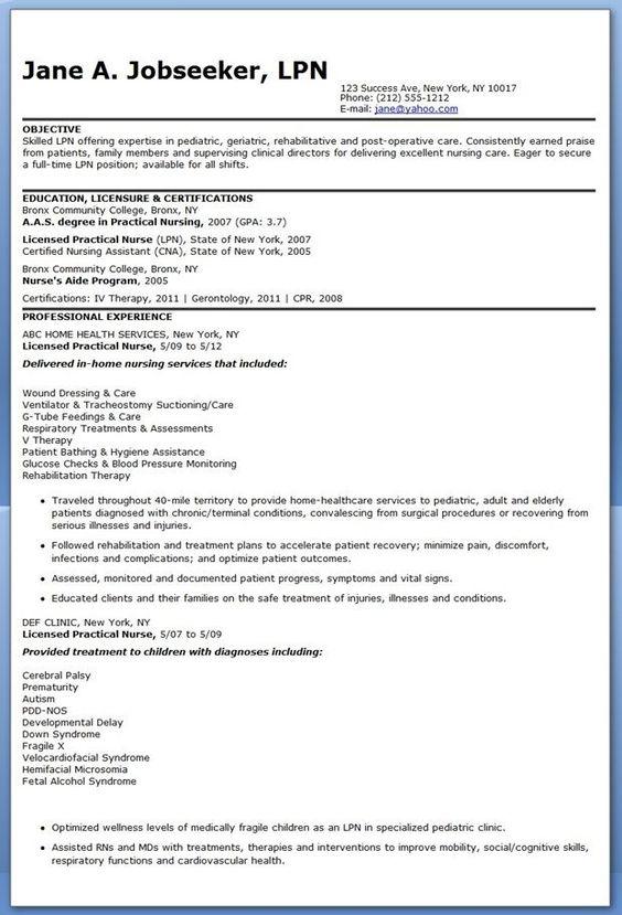 clinical experience on nursing resume google search nursing school pinterest nursing resume and search