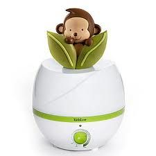 Monkey humidifier to go with the rest of the room..