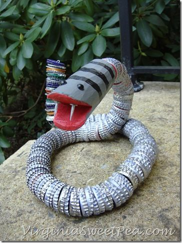 Bottle Cap Snakes