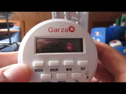 como programar un programador por segundos # garza - YouTube