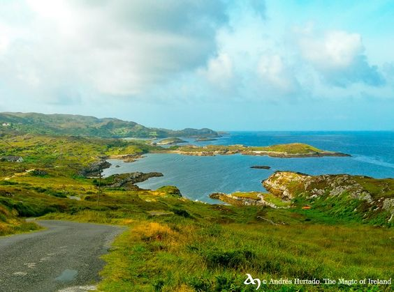 Coastal road near Ardgroom, Beara Peninsula, Co.Cork by The Magic of Ireland. © Andrés Hurtado
