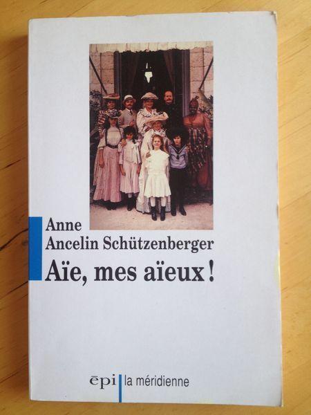 """#psychologie : Aïe! mes aïeux - Anne Ancelin Schützenberger. Anne Ancelin Schützenberger livre dans cet ouvrage, à travers son analyse clinique et sa pratique professionnelle de près d'une vingtaine d'années, une """" thérapie transgénérationnelle psychogénéalogique contextuelle """". En langage courant, ceci signifie que nous sommes un maillon dans la chaîne des générations et que nous avons parfois, curieusement, à """" payer les dettes """" du passé de nos aïeux. C'est une sorte de loyauté invisible…"""