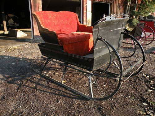 how to build a horse sleigh