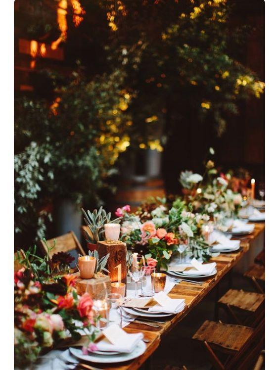Elegant Tablescape for an elegant wedding