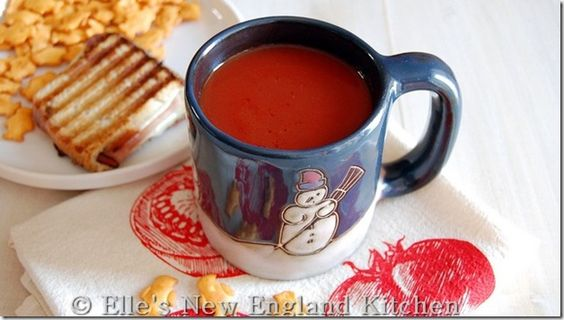 Simple Tomato Soup (Campbell's Copycat, but without the HFCS)