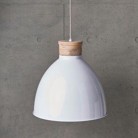 Cupric Hangeleuchte Butlers Hangeleuchte Weisse Hangeleuchte Deckenlampe Holz