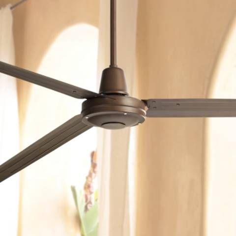 84 Turbina Xl Oil Rubbed Bronze Ceiling Fan 11g94 Lamps Plus