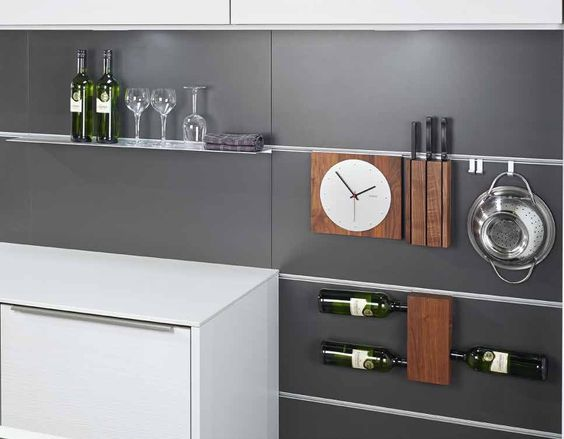 Panel Nischensystem Mit Mehreren Neuen Funktionselemeten (Fotos: Pronorm  Einbauküchen GmbH) | Küche | Pinterest | Einbauküchen, Mehrere Und Fotos