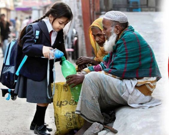 The real Meaning of Education! Photo: Vedhika