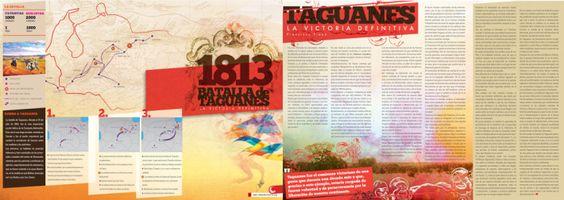 Infografía sobre la Batalla de Taguanes