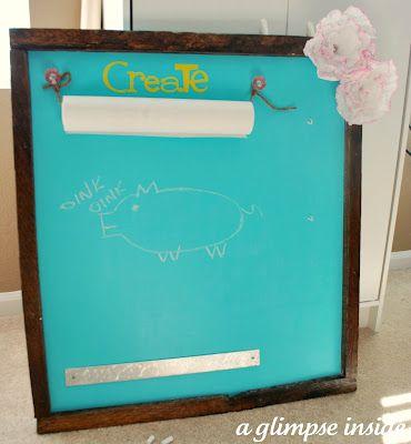 this is a brilliant memo board!!