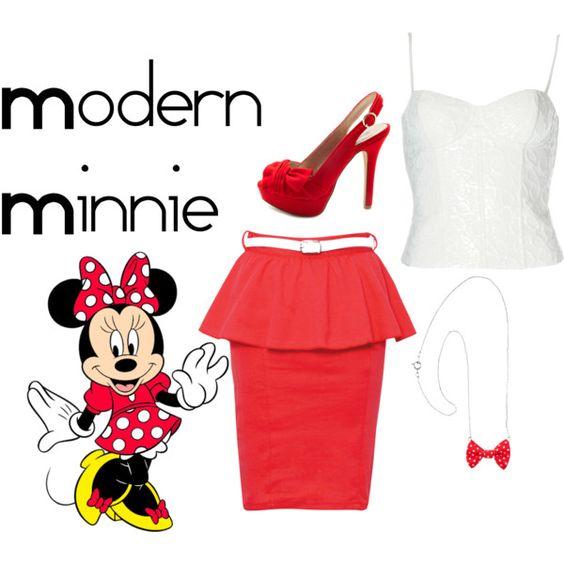 """Modern Minnie"" by jesmay on Polyvore"