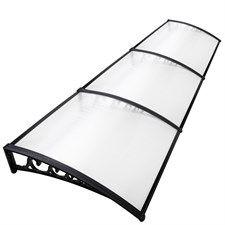 Diy Window Door Awning Cover Transparent 100 X 300Cm