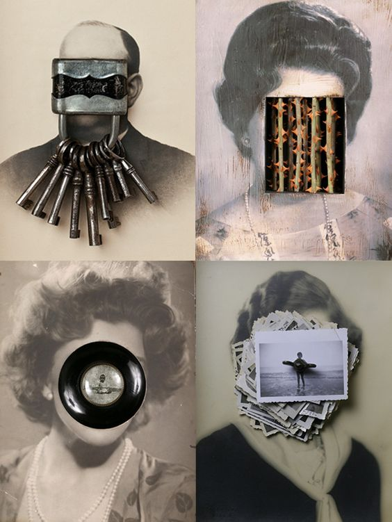 Strange portraits by Pep Carrio