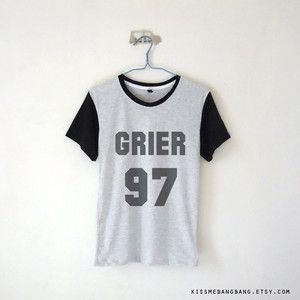 Grier 97 Baseball Tee Nash Grier Shirt Youtuber Shirt Tumblr