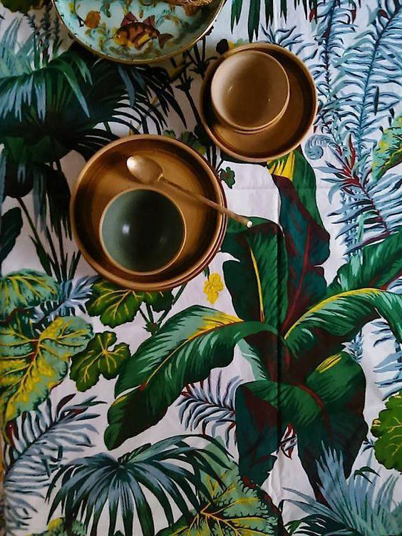 La Jungle Fever s'empare de nos intérieurs avec une profusion de motifs végétaux.