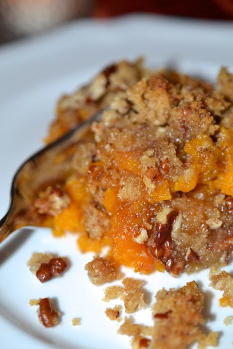 Sweet Potato Casserole with Pecan Streusel | Recipe | Sweet Potato ...