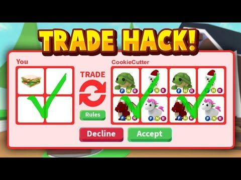 Secret Trading Screen In Adopt Me Roblox Adopt Me Duplicate And Steal Pets Glitch Youtube In 2020 My Roblox Roblox Adoption