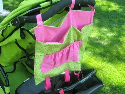 A Vision to Remember-crafting, sewing, creating, eating, sahm, cooking, LOVING: Stroller/Shopping Cart Caddy Tutorial