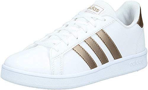 adidas grand court k chaussures de tennis mixte enfant