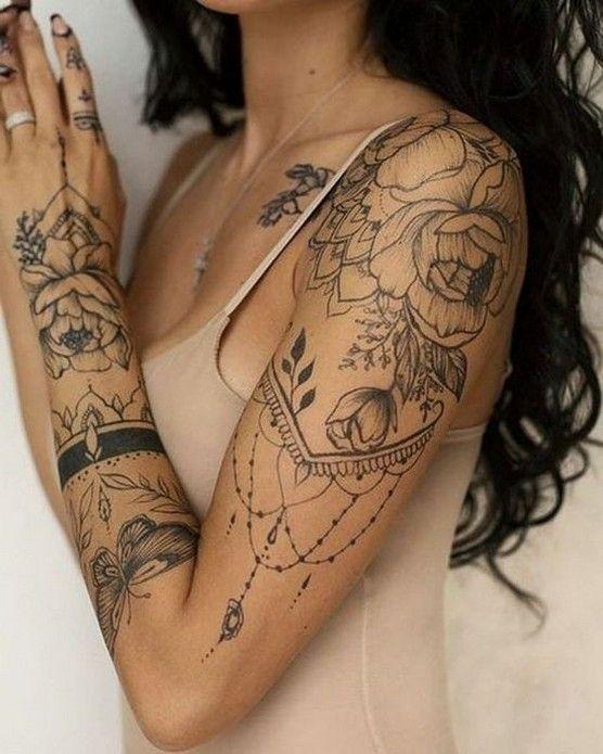 Half Sleeve Tattoos For Women Tattoos For Women Half Sleeve Half Sleeve Tattoo Sleeve Tattoos For Women