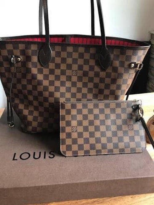 Louis Vuitton Handbag Neverfull Damier