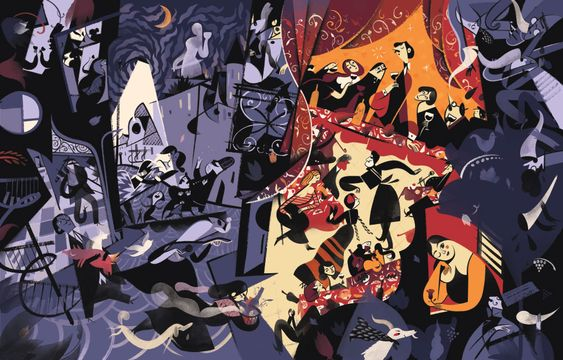 A fine line: the illustrated worlds of Roman Muradov — The Calvert Journal