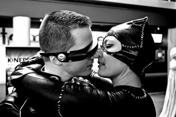 Catwoman et cyclope