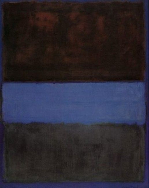 Rothko - No 61 (Brown Blue Brown on Blue) (1953)