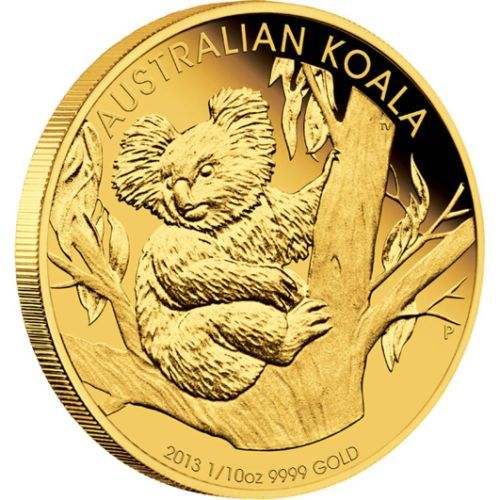 Koala 1 10 Oz Gold Proof Coin 2013 The Perth Mint With Images Coins Gold And Silver Coins Gold Coins