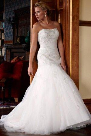 UBK UsereBrautKleider--Elegant Herzförmig Lace Lang Hochzeitskleid Brautkleider