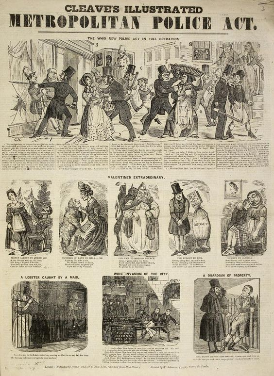 Cleaves Illustrated Metropolitan Police Act, 1839